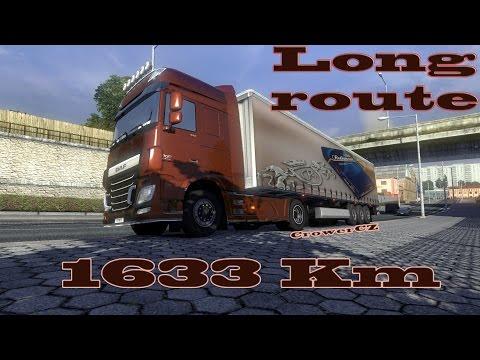 Euro Truck Simulator 2 - Long Route 1633 Km