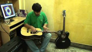 Rote Hue Aate Hai Sab-Film-Muqqadar Ka Sikandar on Electricguitar (Instrumental) by Pramit Das.avi