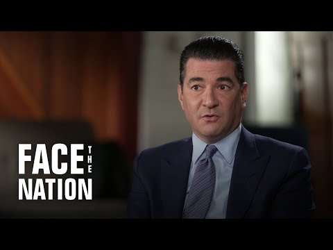 """Extended interview: Dr. Scott Gottlieb on """"Face the Nation"""" with Margaret Brennan, Part 1."""