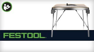 Getting Started With Your Festool Mft/3 Conturo Work Table