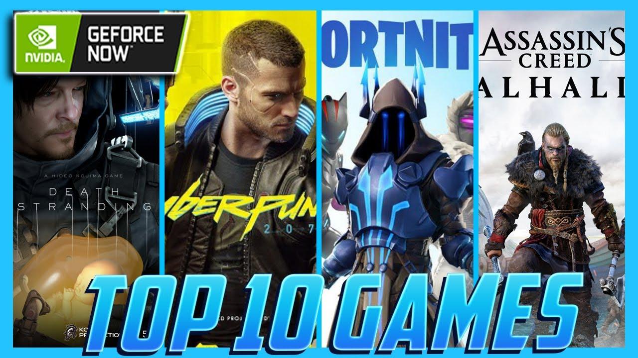 Top 10 GeForce NOW Games of 2020
