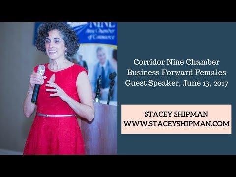 Stacey Shipman Speaking Clip
