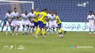 أهلي جدة يخسر من النصر بمشاركة عبد الشافي .. فيديو