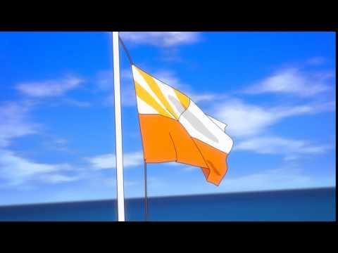 Anime flag