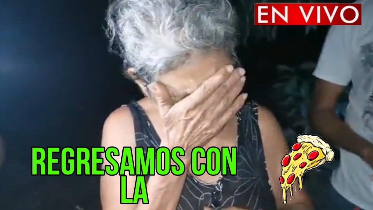 REGRESA-M0S CON LA  PIZZZAAA DE DOÑA MARIA Y DOÑA ENMMA /QUE OPINAS ? EL SALVADOR 4K