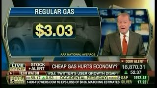 Awesome Conservative Hypocrisy On Gas Prices(Reaching levels of partisan desperation that had previously been unknown to science, Fox News has officially criticized Obama for making gas prices too cheap., 2014-10-30T01:03:45.000Z)