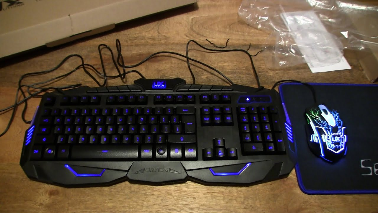 gaming keyboards mice