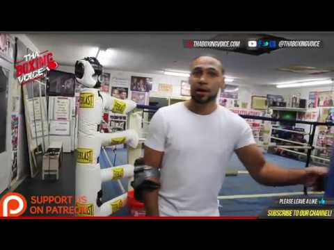 Keith Thurman on Rivalry with Demetrius Andrade in the Amateurs & Andrade's Chances at Middleweight