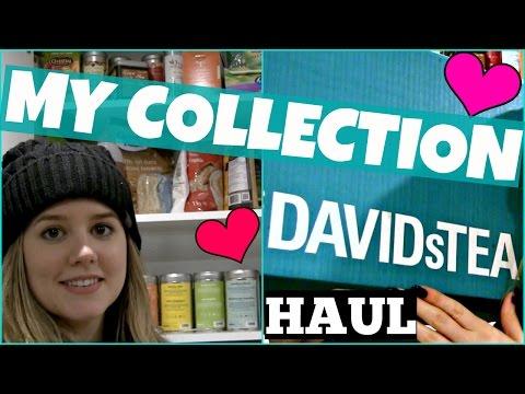 Davids Tea Collection Favourites Haul 2017