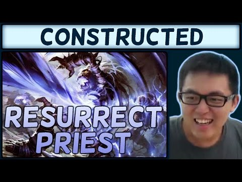 [Hearthstone] One Night in Karazhan Resurrect Priest S29 #11: Ragnaros Number Generator