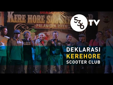 536TV - Deklarasi KEREHORE Scooter Club Palangka Raya