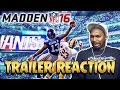 Madden 16 First Look GAMEPLAY Trailer Reaction Odell's AMAZING ONE HANDED CATCH ANIMATION