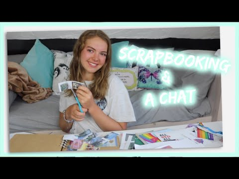 Scrapbooking and a chat | EllaHarris