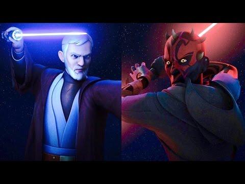 Obi-Wan vs. Maul Duel and Chosen One Interpretation Explained - Twin Suns Analysis