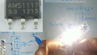Cara Buat LED Driver 3 Watt IC AMS1117-3,3