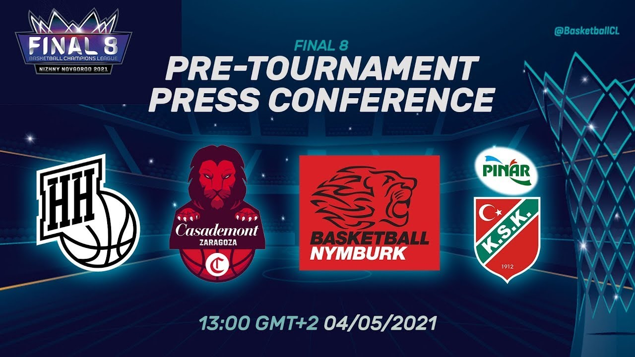 Pre-Tournament Press Conference I Tuesday - Final 8 2021 | Basketball Champions League 20/21