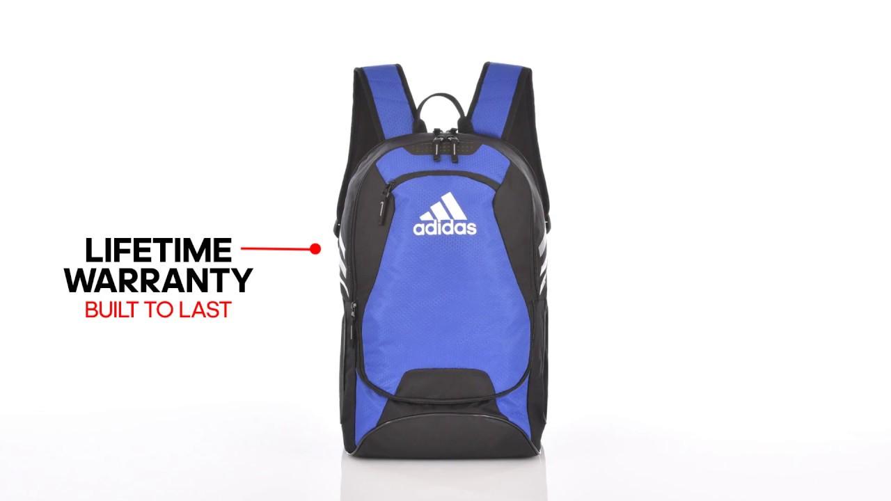 8736da71e Made for Athletes - The adidas Stadium II Backpack - YouTube
