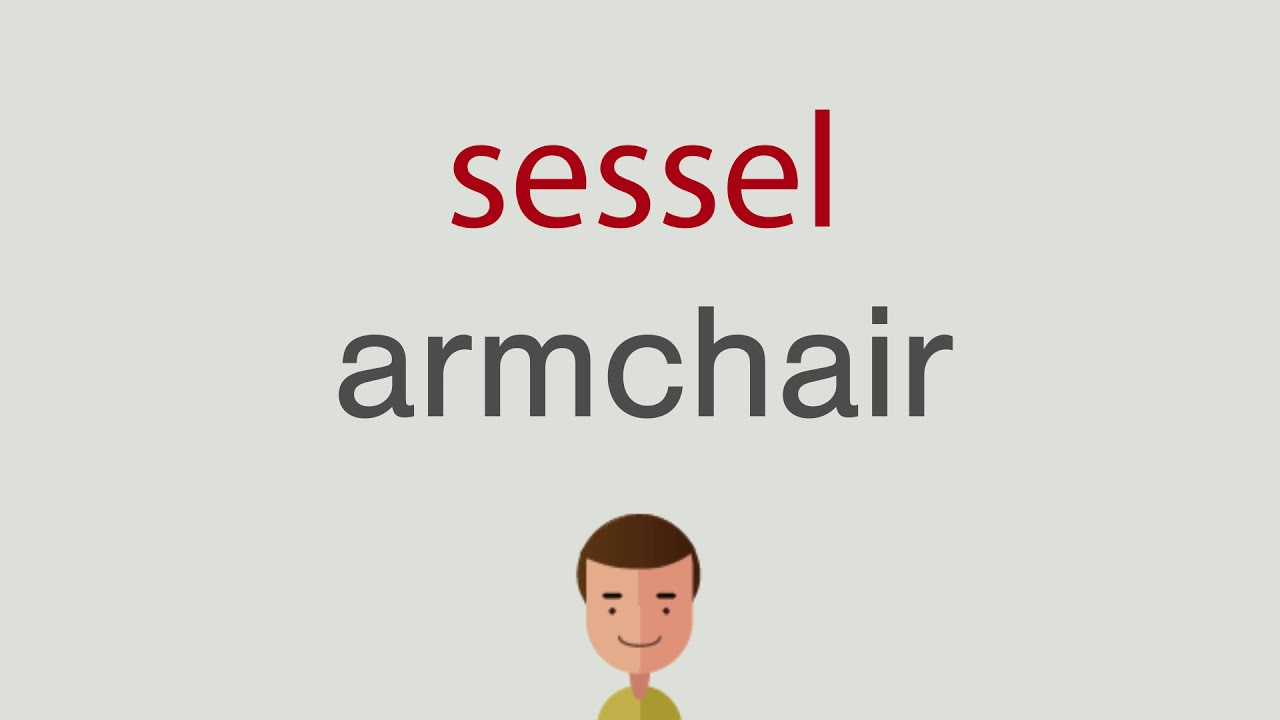 Wie Heißt Sessel Auf Englisch Youtube