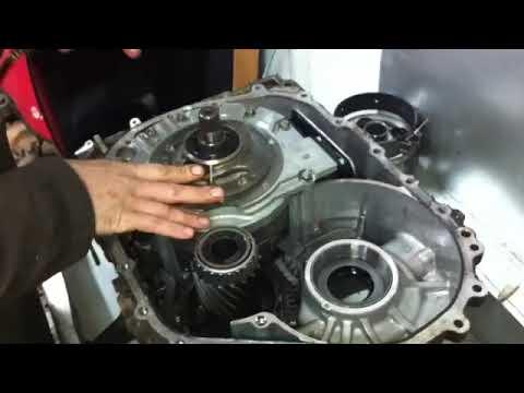 Фото к видео: Проверка срабатывания пакетов фрикционов на АКПП A6LF3 hyundai kia