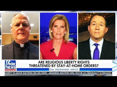 Catholic Priest SHUTS DOWN Fox News Host