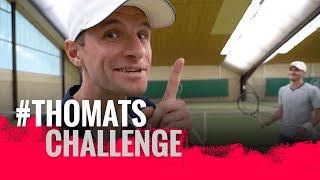 #ThoMats Challenge Tennis mit Alexander Zverev