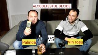 Experiment cu ALCOOLTESTUL politiei: vin de casa sau palinca de Bihor? Tavi Pertea