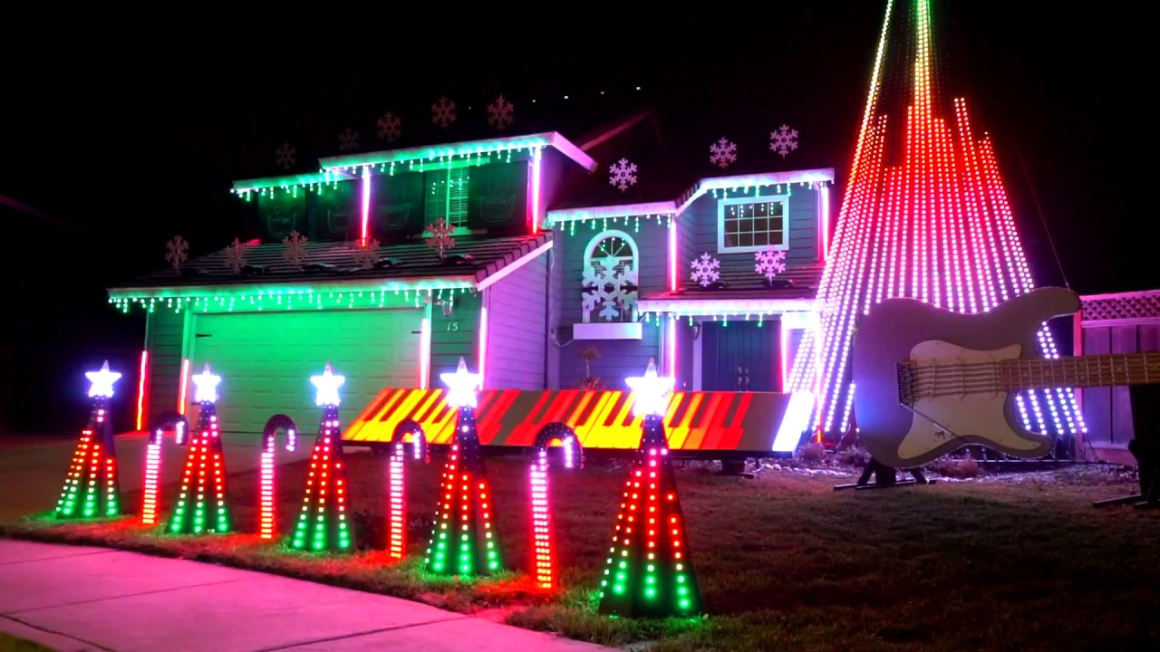 Carol Of The Bells Christmas Lights 2020 Metal Carol of the Bells Christmas Light Show! (Dec 2017)   YouTube