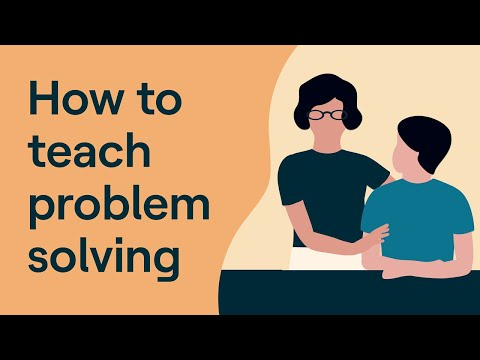 Problem Solving Techniques For Your Child