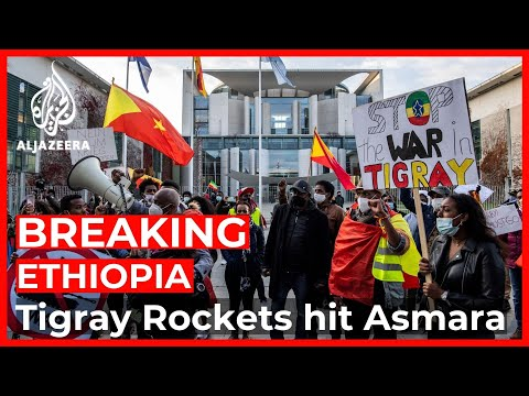 Rockets 'fired from Ethiopia's Tigray region' hit Eritrea capital