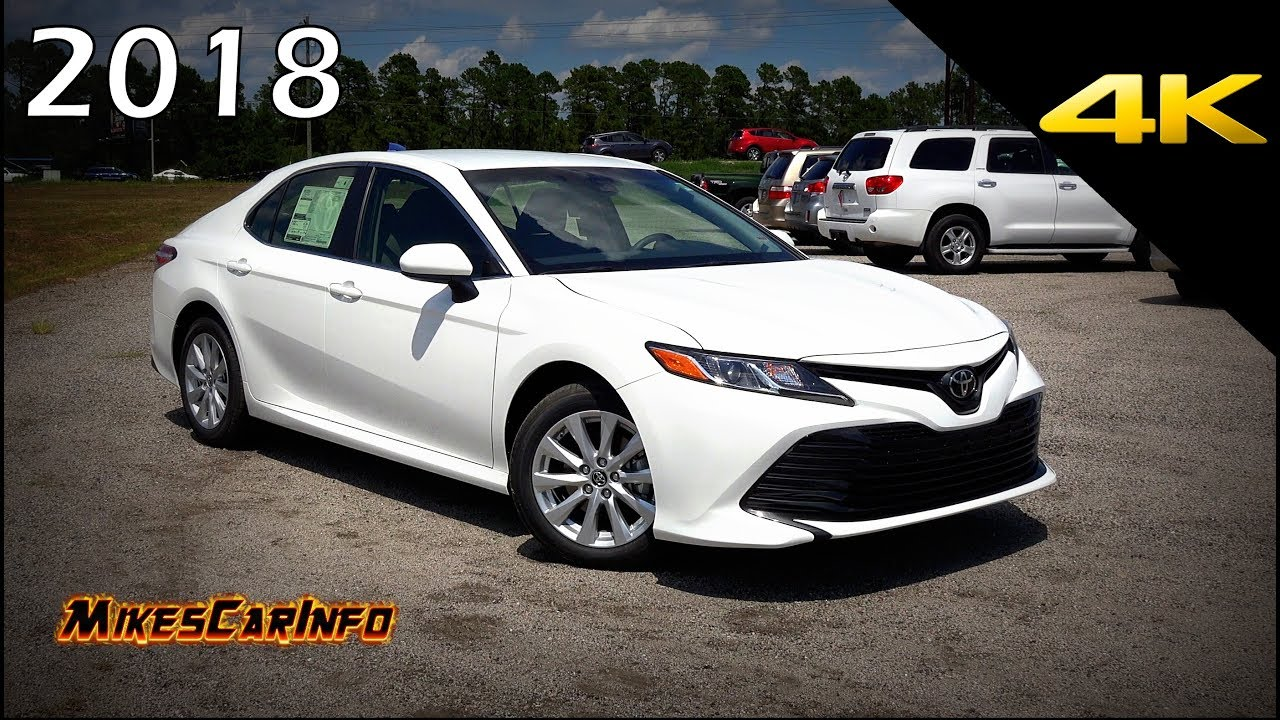 2018 toyota camry le ultimate in depth look in 4k