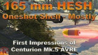 WT    Centurion Mk.5 AVRE - Really Odd Fun