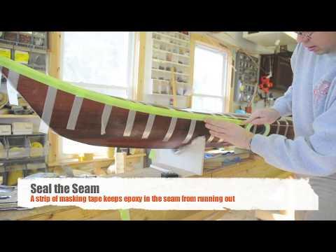 Seaming the Kayak