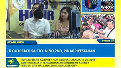 Pagbabayad ng Community Tax Cert. (CEDULA) | PIO Hour January 17, 2019