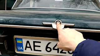 газовый упор на  ляду багажника Ваз 2106