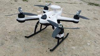Дешевый квадрокоптер с БК моторами и GPS, Flying3d X6