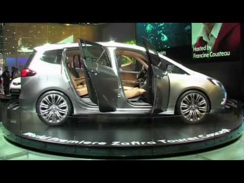 Opel Zafira Tourer Concept 2011 Autotalli Youtube