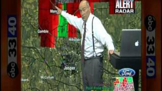 ABC 33/40 Coverage of the April 27, 2011 Outbreak (2:15 to 2:30 pm)