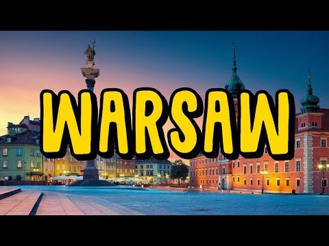 Travelling Around Warsaw, Poland in 2018