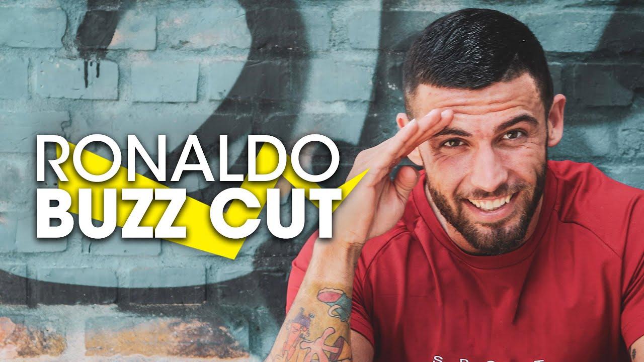 Buzz Cut Hair Styles: Cristiano Ronaldo New Hair 2017
