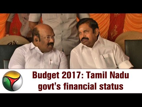 Budget 2017: Tamil Nadu government's financial status | Special report
