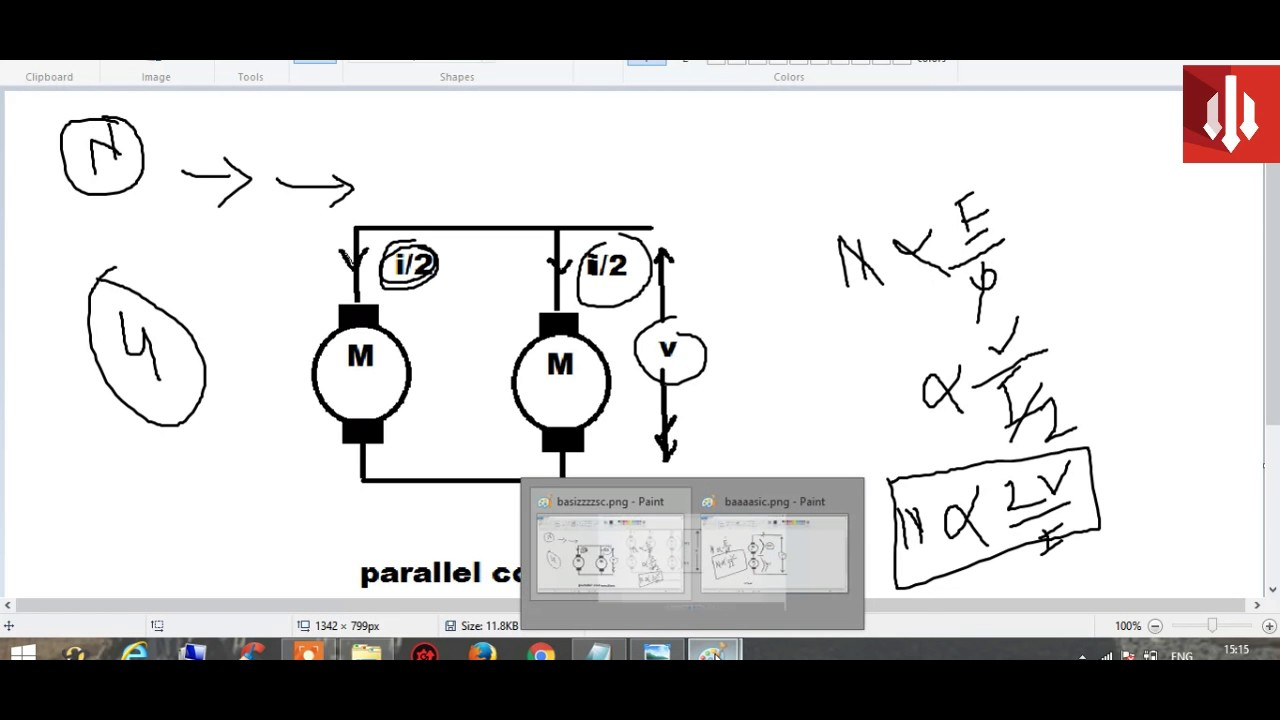 Series Parallel Dc Motor Diagram Trusted Schematics Drives Electrical Study App By Saru Tech Connection Of Reversing Relay Wiring Source