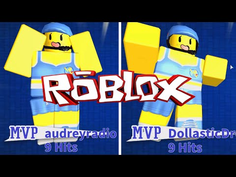 ROBLOX LET'S PLAY DODGEBALL | RADIOJH GAMES & DOLLASTIC PLAYS