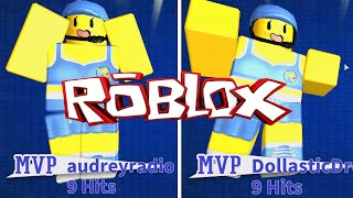 ROBLOX LET'S PLAY DODGEBALL - France RADIOJH GAMES - DOLLASTIC PLAYS