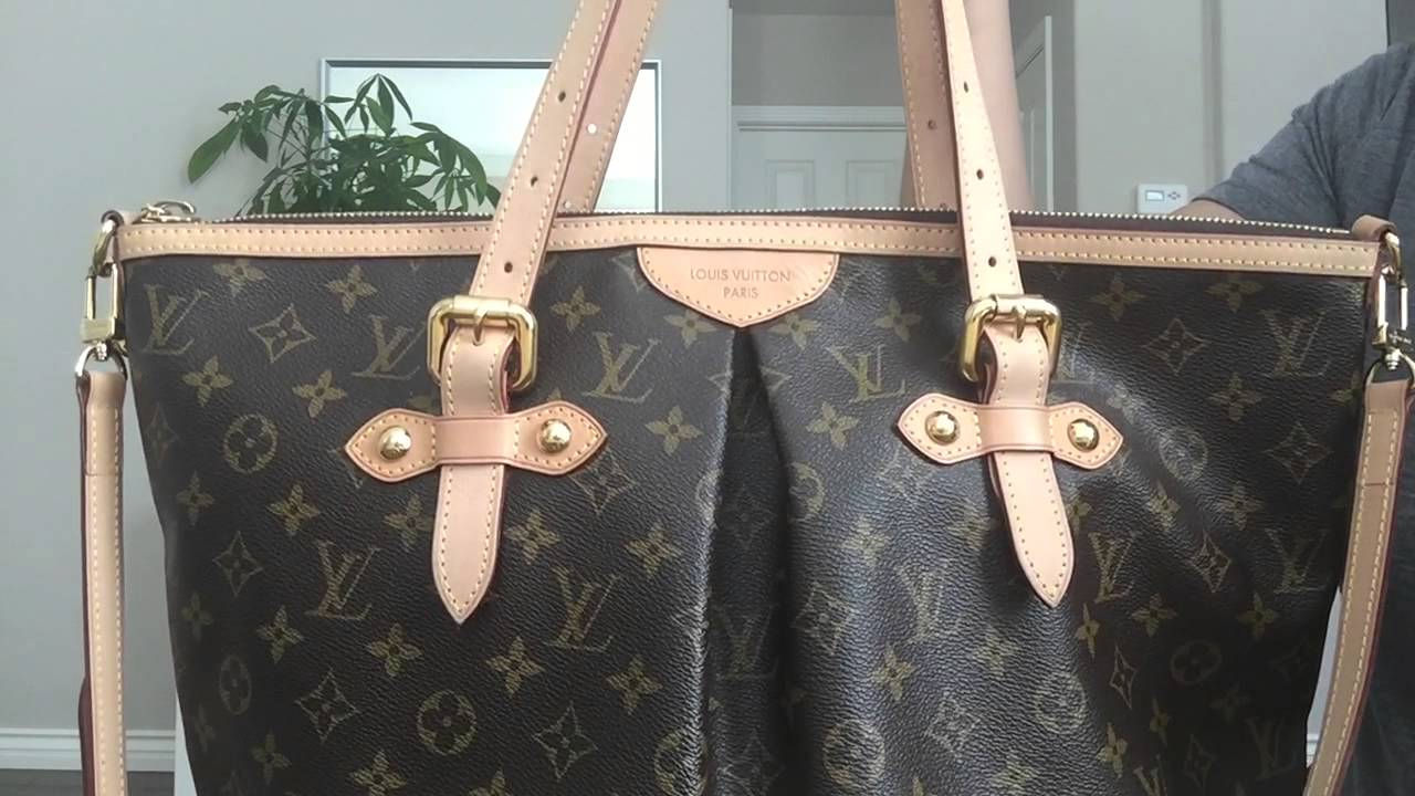 48551eaaef8 LOUIS VUITTON   REVIEW + WHY I SOLD THIS BAG   PALERMO GM   MOD SHOTS    GINALVOE - YouTube