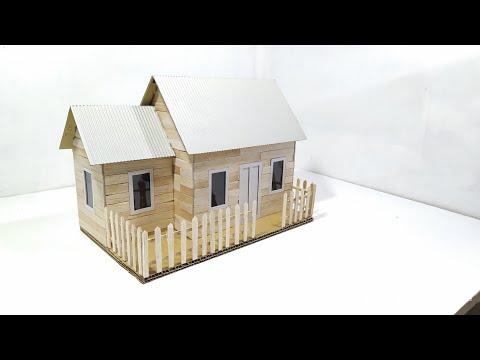 Bagaimana cara membuat rumah dari karton?.