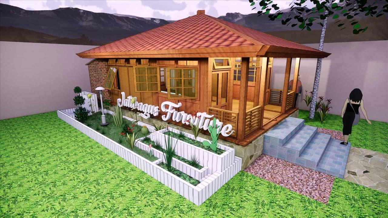 Contoh Desain Unik Artistik Rumah Kayu Minimalis Unik ...
