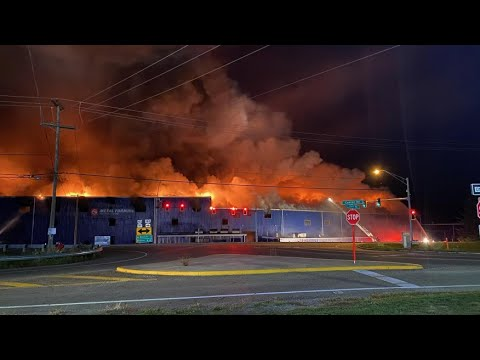 Massive Fire At Malvern | Colfor Manufacturing Factory.