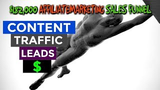Anatomy Of A $182,000 Affiliate Marketing Sales Funnel