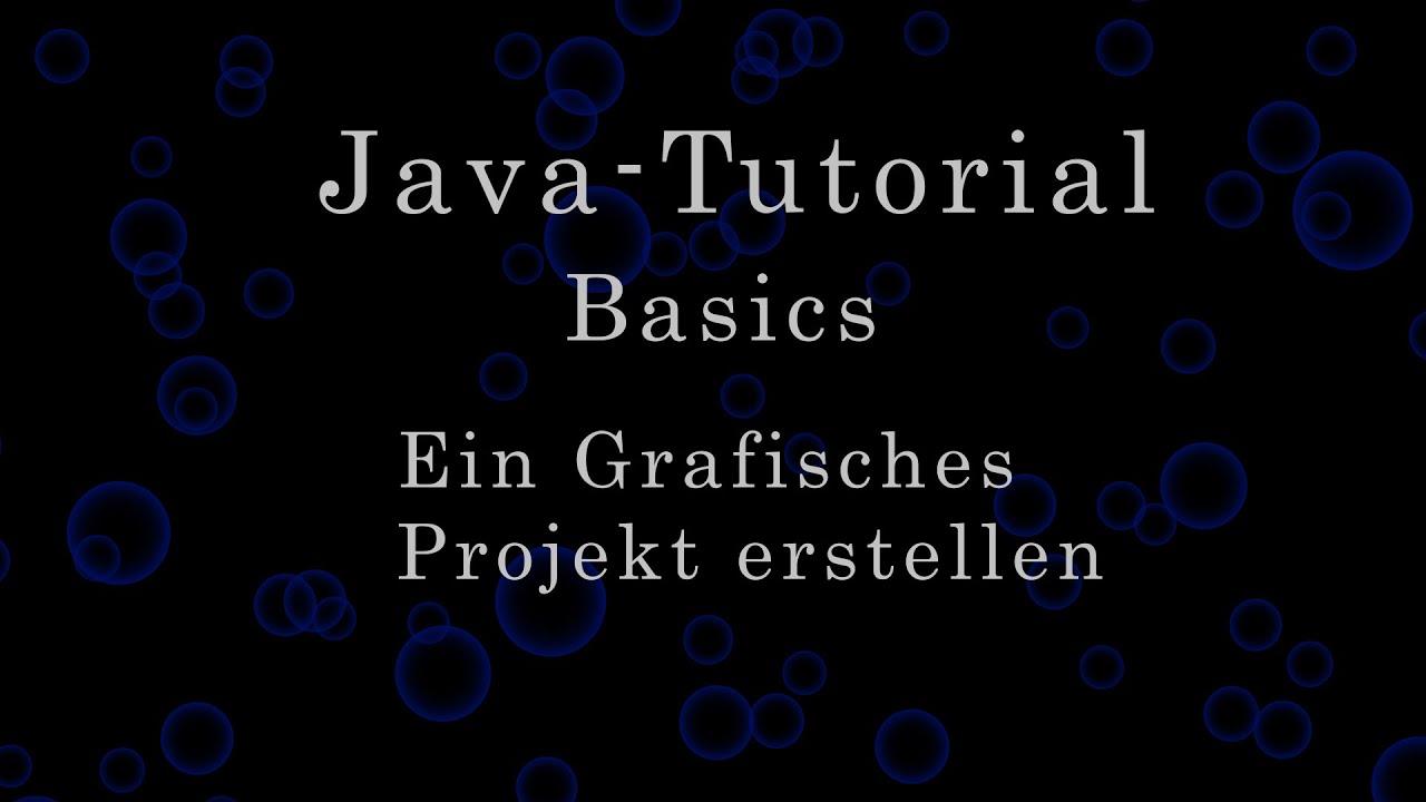 Java-Tutorial: Erstellen eines einfachen grafischen
