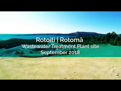 Rotoiti | Rotomā Wastewater Treatment Plant site - September 2018